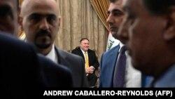 پومپئو با رهبران عراق دیدار کردهاست