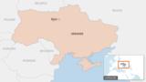 Ukrainanyň kartasy