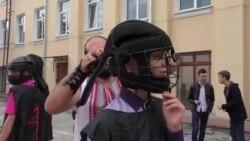 Antrenament de lupte tradiţionale căzăceşti