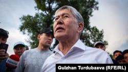 Қырғызстанның бұрынғы президенті Алмазбек Атамбаев. 27 маусым 2019 жыл.