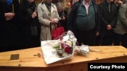 На похоронах Натальи Горбаневской в Париже