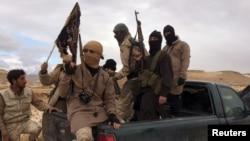 Pjesëtarë të Al-Nusras, dhjetor 2015