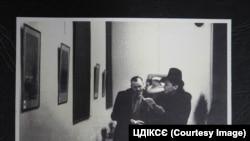 Фото із виставки «Майданек» художника Зіновія Толкачова, яка пройшла у Кракові у 1945 році. Фото надане Центром досліджень історії та культури східноєвропейського єврейства