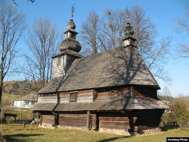 2. Церква Святої Анни в Горянах, передмісті Ужгорода