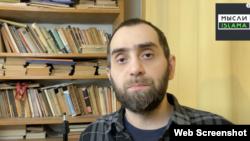 """Ислам Белокиев, скриншот с ютьюб-канала """"Мысли Ислама"""""""