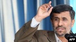 Iranian President Mahmud Ahmadinejad (file photo)