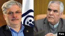 Taghi Nourbakhsh and his deputy, Abdolrahman Tajeddin