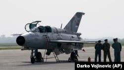 Миг-21 на српското воено воздухопловство