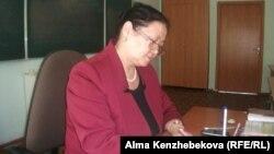 Преподаватель казахского языка и литературы школы-гимназии №139 Гульшат Болатбекова.