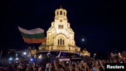 Sa protesta u Bugarskoj, 23. jul 2013.