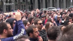 Thousands Protest In Tbilisi Over Police Raid On Clubs