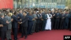 احد اجتماعات الاتحاد الافريقي في اديس ابابا ( الارشيف)