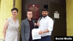 Владислав Янюшкин с адвокатами