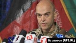 НАТО етакчилигидаги халқаро кучлар матбуот котиби генерал Гунтер Катс.