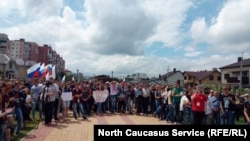 Антикоррупционный митинг в Ставрополе (архивное фото)