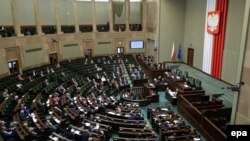 Проект змін до закону в Сейм вніс прем'єр Польщі Матеуш Моравецький