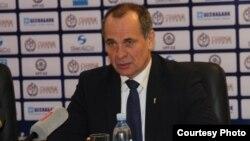Қазақстан футбол федерациясына қарайтын төрешілік және инспекторлық департаментінің бас директоры Николай Левников.