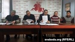 Славамір Адамовіч, Мікалай Аўтуховіч, Аляксандар Макаеў, Тацяна Міронава, Віктар Ламека