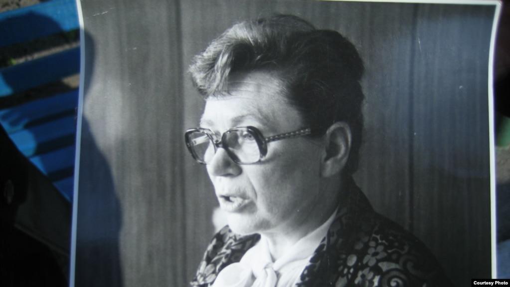 Ганна Валентинович, фото з сімейного альбому