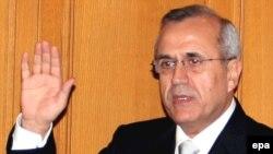 رییس جمهوری شصت ساله لبنان ۴۰ سال است كه در ارتش خدمت می کند.(عکس: EPA)