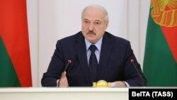 Belarus's embattled leader Alyaksandr Lukashenka