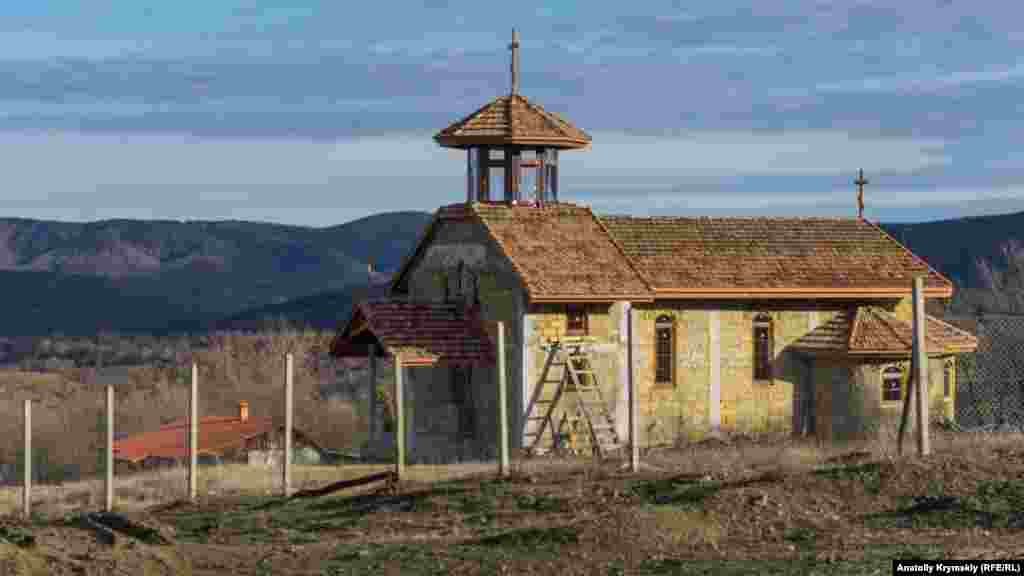 Храм в Богатыре почти готов