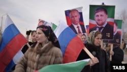 Митинг в Грозном, архивное фото