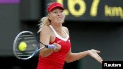 Maria Sharapova në aksion