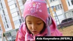 Aida Kasymalievanın 5 yaşlı qızı Bermet