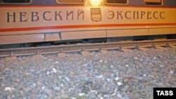 """На месте взрыва """"Невского экспресса"""", 2007 год"""