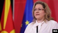 Славјанка Петровска, пратеничка од СДСМ и поранешна заменичка на министерот за внатрешни работи во техничката Влада