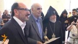 «Եղիցի լույս» մրցանակը հանձնվեց Փելեշյանին