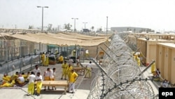 The Camp Cropper detention center will be handed over to Iraqi control in July.