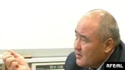 Жаңаөзен оқиғасы бойынша үкіметтік комиссия басшысы Өмірзвқ Шүкеев.