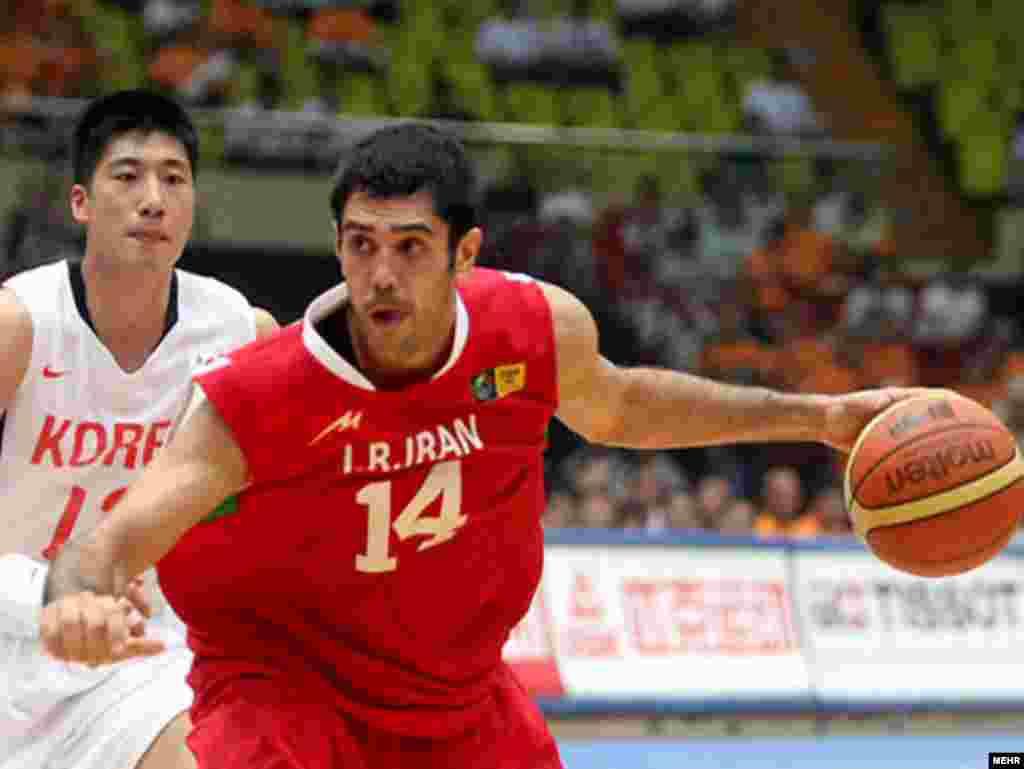 بسکتبال ايران با پیروزی بر چین قهرمان آسيا شد