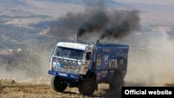 КАМАЗ машинасы Дакар узышында