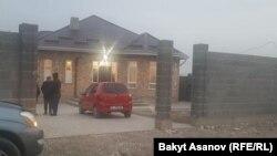 Дом, где убили Улана Салянова.