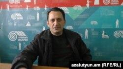 Հայ ազզգային կոնգրեսի Գյումրիի գրասենյակի պատասխանատու Մուրադ Գրիգորյան