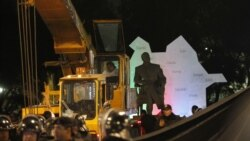 Mexico -- Heydar Aliyev's statue removed from Mexico's main avenue, 25Jan2013