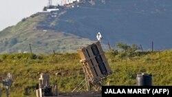 Израильская система ПРО на Голанских высотах в приграничном с Сирией районе. Иллюстративное фото.