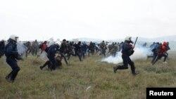 Makedoniya-Gretsiya chegarasidagi to'qnashuv, 6 aprel, 2019 yil