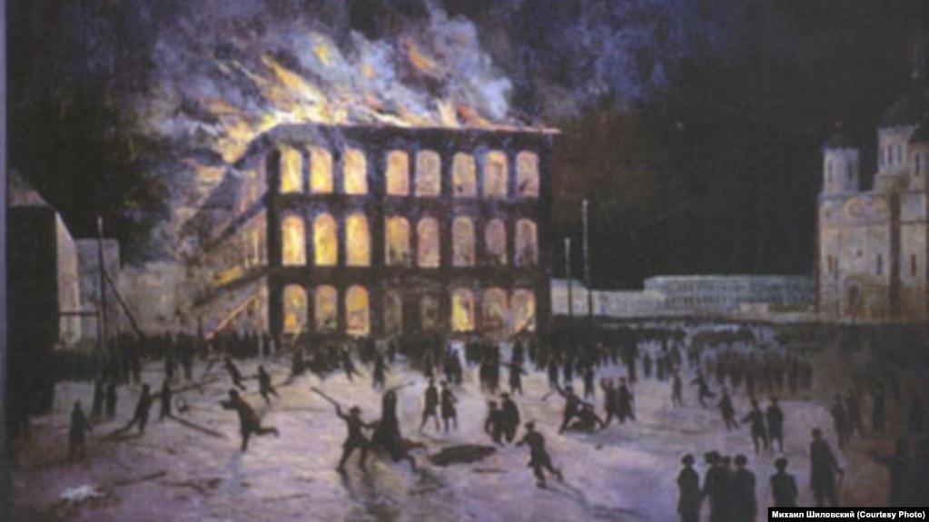Черносотенный погром 1905 года в Томске. Владимир Вучичевич-Сибирский