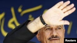 Салех - говор пред подржувачите во Сана
