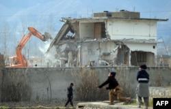 تخریب خانه بن لادن در ابوتآباد، ۲۶ فوریه ۲۰۱۲