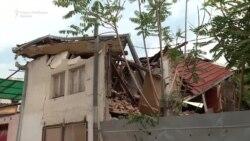 Земјотрес - Урната куќа во Стара чаршија