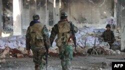 نیروهای ارتش سوریه در اطراف حلب؛ ۱۷ فوریه