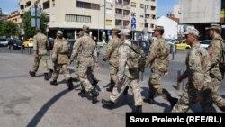 Црногорска Армија, мај 2016.