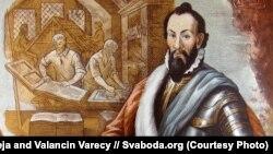Мікалай Радзівіл Чорны, галоўны герой спэктакля «Біблія Радзівіла»