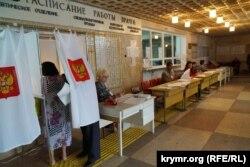Так звані «вибори» в окупованому Криму, 18 вересня 2016 року