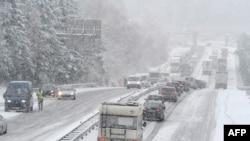 Европа во власти снежной стихии